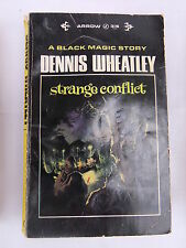 Dennis Wheatley Strange Conflict - Black Magic Story - Arrow Book 1965