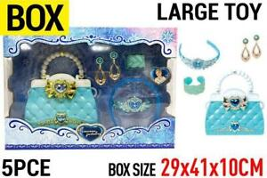 Snow Princess Bag & Jewellery Large Toy Set Classic Girl Holiday Gift AU Post
