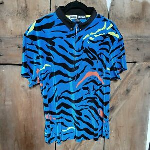 Jamie Sadock XL Short Sleeve GOLF Polo Pullover Blue Black