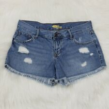 Old Navy The Diva Distressed Raw Hem Cut Off Shorts Size 4