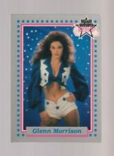 1992 Enor Dallas Cowboys Cheerleaders #29 Glenn Morrison card