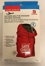 Stroller Bag for Airplane Travel Standard or Double Stroller