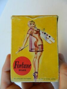 Vintage Fortune Brand 1960s/70s Risqué Playing Cards