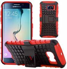 Étuis, housses et coques rouges en plastique rigide Samsung Galaxy S6 pour téléphone mobile et assistant personnel (PDA)