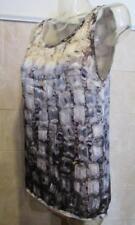 Lovely Lanvin Resort 2012 Jewel Print Silk Sleeveless Shell/Top - 36/S/4