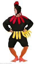 Para Hombre Disfraz de pollo muy estúpido pájaro Gallo Despedidas De Soltero Noche Vestido de fantasía Traje Nuevo