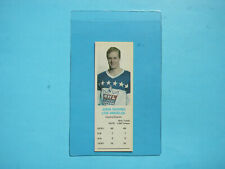 1970/71 DAD'S COOKIES NHL HOCKEY CARD JUHA WIDING ROOKIE NM SHARP+ 70/71 DADS