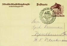 Briefmarken-Ganzsachen aus dem deutschen Reich mit Sonderstempel aus dem deutschen Reich
