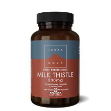 Terranova Milk Thistle 500mg 100 Veg Capsules