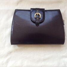 Harrods ladies handbag, new, black leather, Widest W 29.5 cm, height 20cm