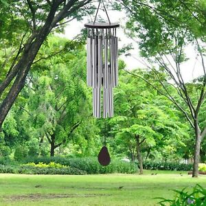 Large Windchime  27 Tubes Chapel Bells Wind Chimes Door Hanging Home Decor  Xmas