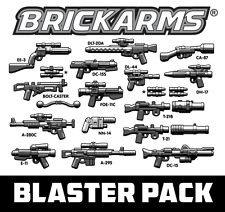 Brickarms Blaster Weapons Pack BNIP Can use with Lego