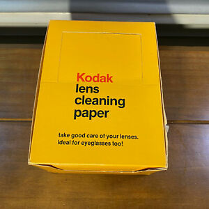 New 30 Packs Kodak Lens Cleaning Paper 50 Sheets Each Pack