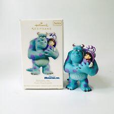 Monsters Inc - 2012 - Hallmark Ornament - Disney Pixar Sully Boo Christmas Gift
