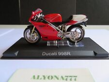 1/24 Ixo DUCATI 998R Street Version RED Moto Bike Motorcycle 1:24 Altaya / IXO
