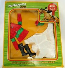 """Vtg 70's Pedigree 10.5"""" Doll ANNA MOORE """"POINT TO POINT"""" Outfit #22305 MIB"""