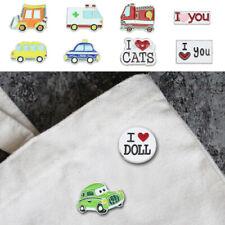 Car Badges Lapel Backpack Accessories Us Cartoon Enamel Pin Metal Letter Brooche