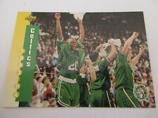 Carte NBA UPPER DECK 1993-94 McDonald's TEAM FR #2 Boston Celtics