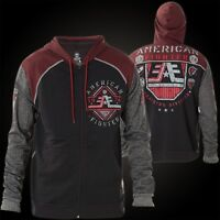 American Fighter by Affliction Hoody Oberlin Black/Red/Grey