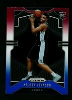 KELDON JOHNSON 2019-20 Prizm #273 RED WHITE and BLUE ROOKIE/RC San Antonio Spurs