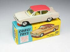 Corgi Toys - 234 - Ford Consul Classic variation Beige rosé - 1/43e - England