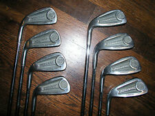 Ram Accubar Stainless  Irons Left Handed  3-8 & PW Steel reactive rhythm shafts