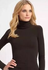 Spanx On Top Control 973 XL Classic Bittersweet Brown Long Sleeve Turtleneck