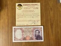 BANCONOTA LIRE 10000 MICHELANGELO 20 5 1966 certificata BB+ SUBALPINA