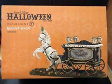 Dept 56 Halloween Village 2014 Haunted Hearse #4036603 Retired, Nib