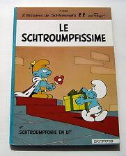SCHTROUMPFS .  2 . LE SCHTROUMPFISSIME . PEYO . BD EO (Dos Rond)