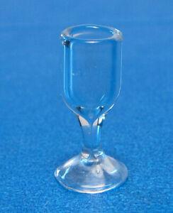 """MINI DOLLHOUSE WINE GLASS 1/2"""" Bright Delights"""