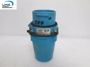 MELTRIC DS20 MALE PLUG INLET 20A 600V 7.5hp 33-18143-4X