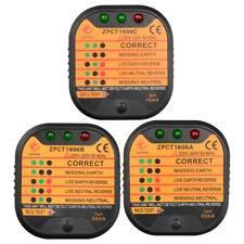 Lot Electric Socket Testers Smart Power Outlet Safety Leakage Voltage Detector
