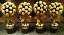 4 pcs Ferrero Rocher Sweet Tree  24 Sweets,Wedding, Baby shower,Centerpiece