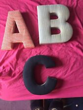 ABC nursery letters for wall