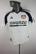 Bayer 04 Leverkusen 2000 2001 Away Adidas Football Shirt Trikot Mens XS F625