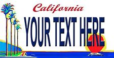 Custom License Plate California Plate novelty License Plate You pick text