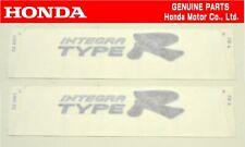 HONDA DC5 Integra TYPE-R (Blue Red Black) Rear Side Fender Decal Sticker Set OEM