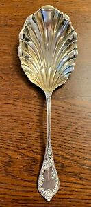 "ESTATE TOWLE STERLING SILVER SERVING SPOON ALBANY PATTERN 6 3/4"" 24GR 1890"