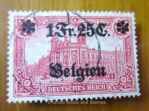 EBS Germany 1914 - World War I - Occupied Belgium - Michel 8 Used (899