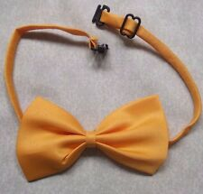 BOYS GOLDEN YELLOW DICKIE BOW TIE BOWTIE ADJUSTABLE NECK SIZE NEW ONE SZ CHILDS