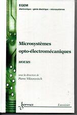 Microsystemes Optoelectromecaniques Traite Egem - Viktorovitch