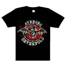 Avenged Sevenfold Recycled Metal Rock Band Black T-shirt  XLarge New