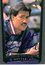 1999 Upper Deck # 41 DENNIS MARTINEZ Autographed Card