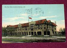 1911 Vintage Postcard Building The New Elms Excelsior Springs Missouri