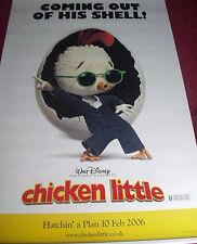 Cinema Banner: CHICKEN LITTLE 2005 (Large Banner) Zach Braff