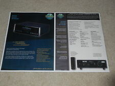 McIntosh MCD205 CD Changer Brochure, 2 pages, Specs, Articles, Info, Beautiful