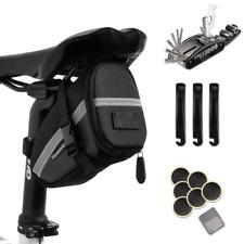 Hommie Portable 16-in-1 Bicycle Saddle Bag Bike Repair Tool Kit Repair Set NEW