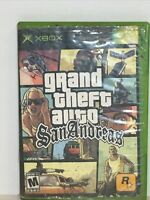 Grand Theft Auto: San Andreas (Xbox) Game Disc Only 💿 GTA Auto