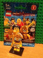 LEGO 8684 SERIES 2 PHARAOH MINT CONDITION